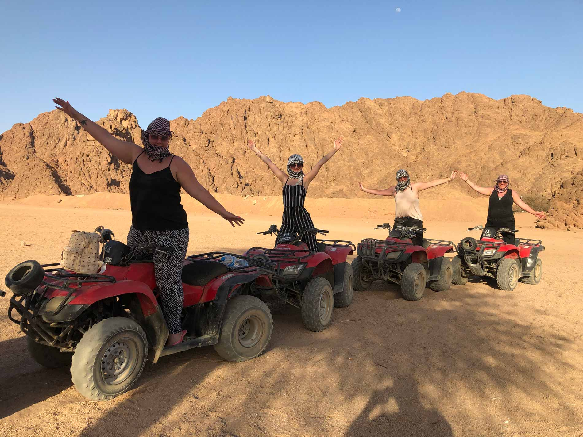 Slow Dive Blog Sharm El Sheikh Quad Tour